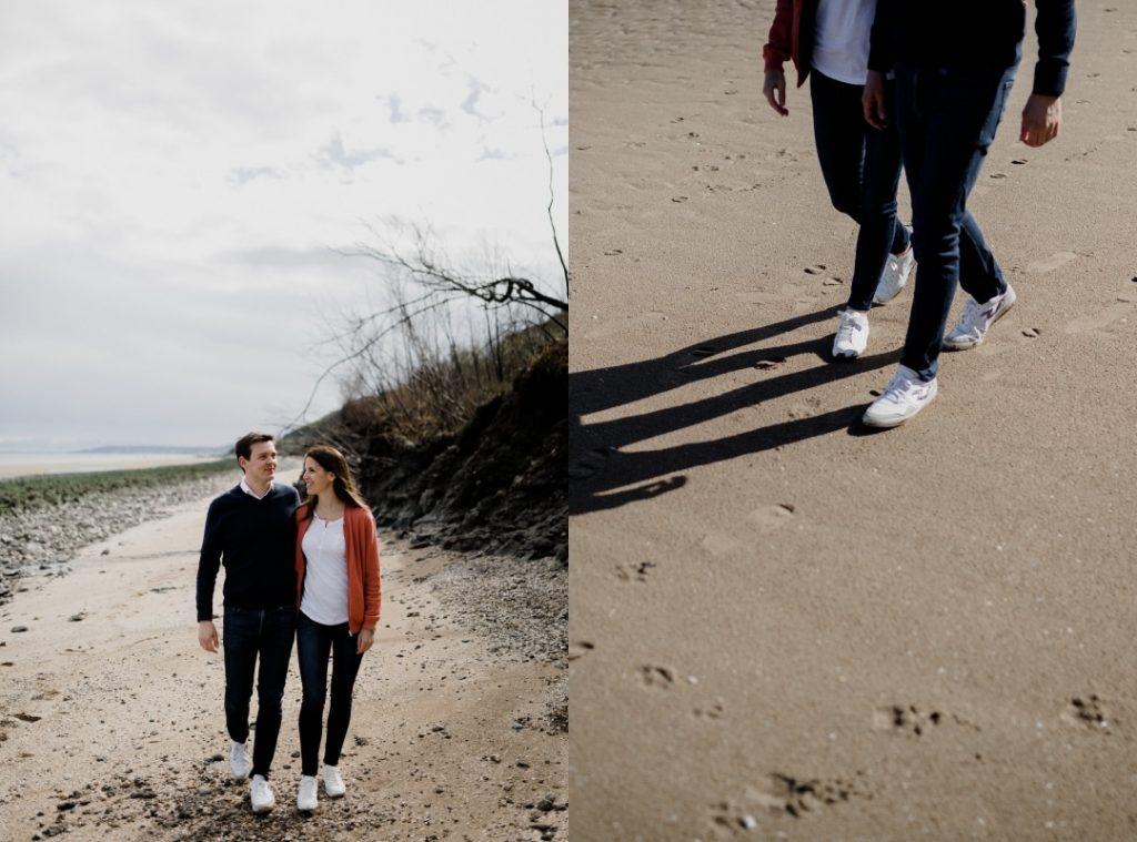 Photographe mariage Cabourg. Séance photo couple famille à cabourg houlgate en Normandie par Simon Davodet